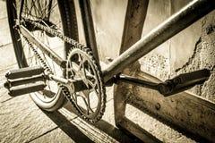 Старый велосипед Стоковые Фото