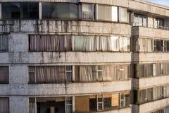 Старый взгляд жилого дома Стоковые Фото