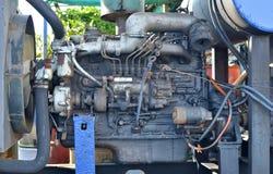 Старый двигатель Стоковая Фотография