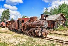 Старый двигатель Стоковое Изображение