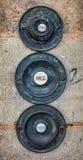 Старый викторианский античный дверные звонки Стоковые Изображения