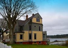Старый викторианский дом стоковые фото