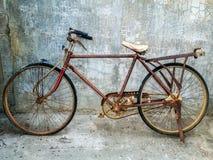 Старый винтажный велосипед Стоковые Изображения RF