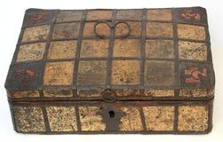 Старый винтажный выполненный на заказ ларец Стоковые Фото