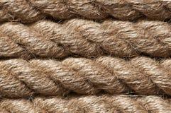 Старый винтажный крупный план веревочки Стоковое Изображение