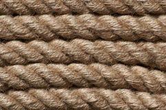 Старый винтажный крупный план веревочки Стоковые Фото