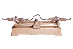 Старый винтажный масштаб Стоковое Изображение RF
