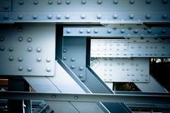 Старый винтажный мост металла стоковое изображение