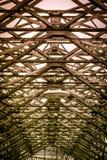 Старый винтажный мост металла стоковое изображение rf