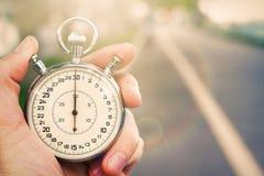 Старый винтажный хронометр Стоковые Изображения