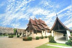 Старый висок Будды (тонна Kwen) Chiangmai Таиланд Wat Стоковые Фотографии RF