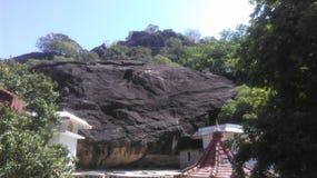 Старый висок в Polonnaruwa Шри-Ланка стоковое фото