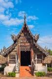 Старый висок сделанный от древесины Стоковая Фотография