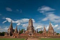 старый висок Таиланд Стоковая Фотография