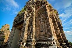 Старый висок Angkor Стоковые Изображения RF
