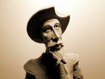 старый воин деревянный Стоковая Фотография RF