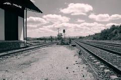 Старый вокзал Стоковые Фотографии RF