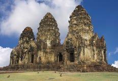 Старый дворец в Таиланде Стоковое Изображение RF
