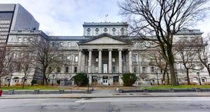 Старый дворец правосудия - Монреаля, Канады Стоковое Изображение