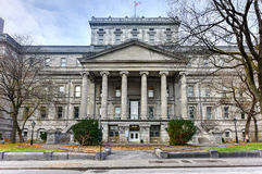 Старый дворец правосудия - Монреаля, Канады Стоковые Фото