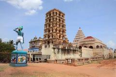 Старый дворец Maratha в Thanjavur стоковое изображение rf