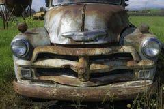 Старый двор автомобиля Стоковые Изображения