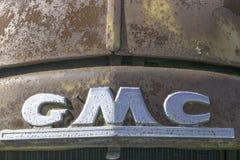 Старый двор автомобиля Стоковые Изображения RF
