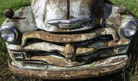 Старый двор автомобиля Стоковое Изображение RF
