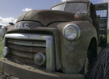 Старый двор автомобиля Стоковое Фото