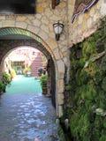 Старый двор Стоковые Изображения RF