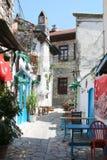 Старый двор Marmaris Стоковая Фотография RF