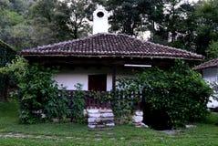 Старый восстановленный дом Стоковое Изображение
