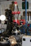 Старый восстановленный регулятор двигателя Стоковое фото RF