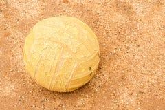 старый волейбол Стоковое Изображение