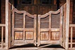 Старый вход салона стоковые изображения rf