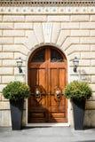Старый вход Стоковое Фото