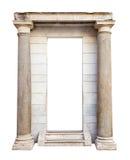 Старый вход с столбцами Стоковая Фотография RF