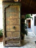 Старый вход Стоковая Фотография