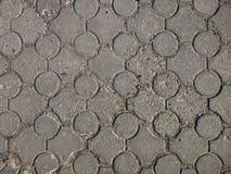старый вымощая малый городок улицы камней Стоковое Изображение