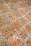 старый вымощая малый городок улицы камней Стоковые Фотографии RF