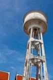 Старый высокий бак в виске Стоковое Фото