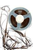 Старый вьюрок магнитной ленты Стоковое Изображение