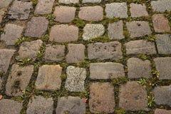 Старый гипсолит улицы Стоковое Изображение RF