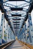 Старый год сбора винограда моста пути рельса Стоковое Изображение