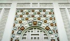 Старый год сбора винограда предпосылки стены текстуры кирпичной стены Стоковое Фото