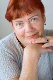 старый год 70 женщин Стоковые Фотографии RF