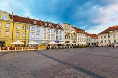 Старый городок в Bydgoszcz Bydgoszcz архитектурноакустически богатый город, с нео-готическим, нео-барочный, neoc стоковое изображение rf