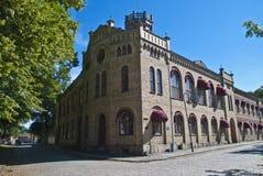 Старый городок в fredrikstad (тюрьма женщин) Стоковое фото RF