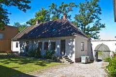 Старый городок в fredrikstad (kjørboegÃÂ¥rden) Стоковая Фотография RF