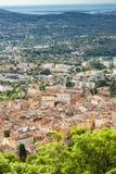 старый городок Грасс, Провансаль, Франция стоковые изображения rf